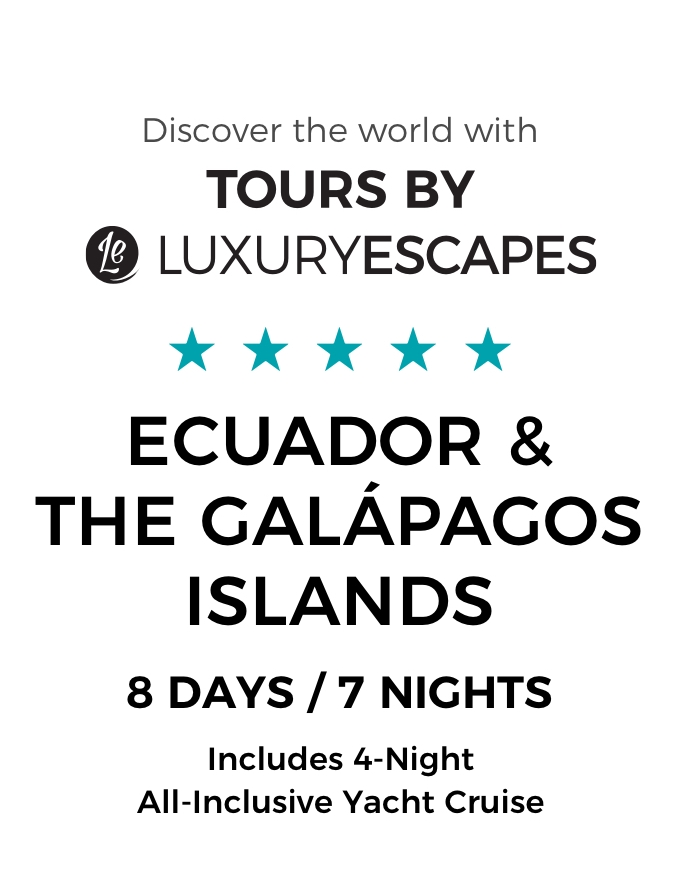 The Galápagos Islands & Ecuador: One-Of-A-Kind Small-Group Tour & Luxury Yacht Cruise with Boutique Accommodation