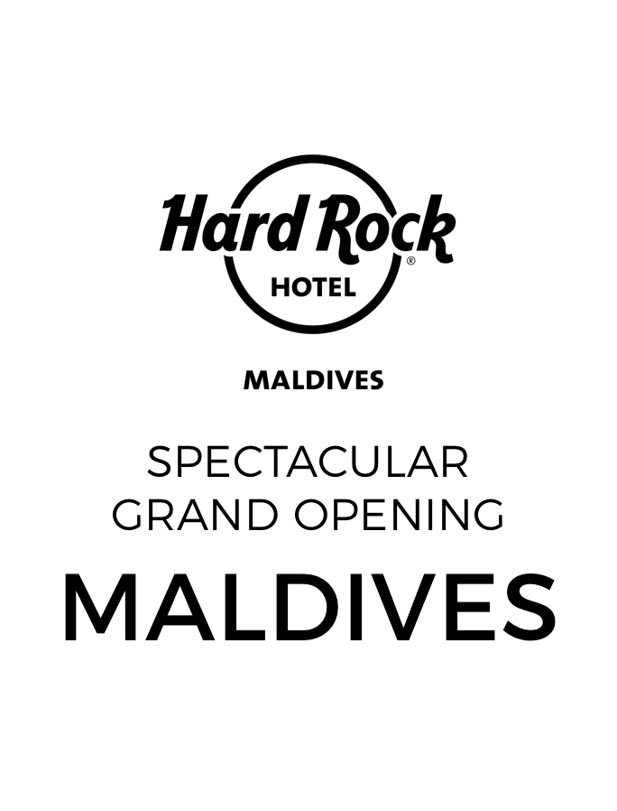 Grand Opening: Hard Rock Maldives with Daily Dining and Free-Flow Cocktails