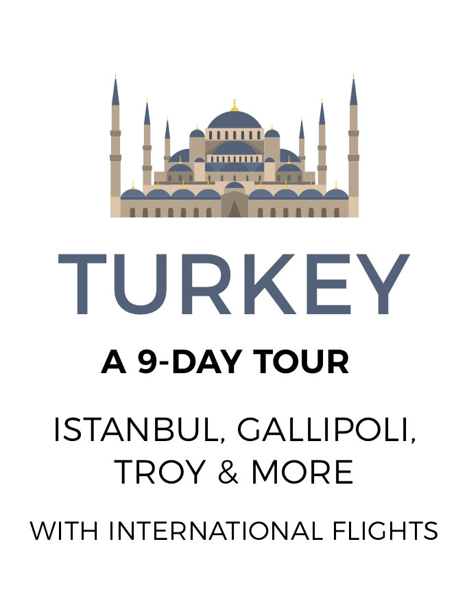 Turkey: 9-Day Tour of Istanbul, Gallipoli and More with Bosphorus Strait Scenic Cruise and International Flights Included