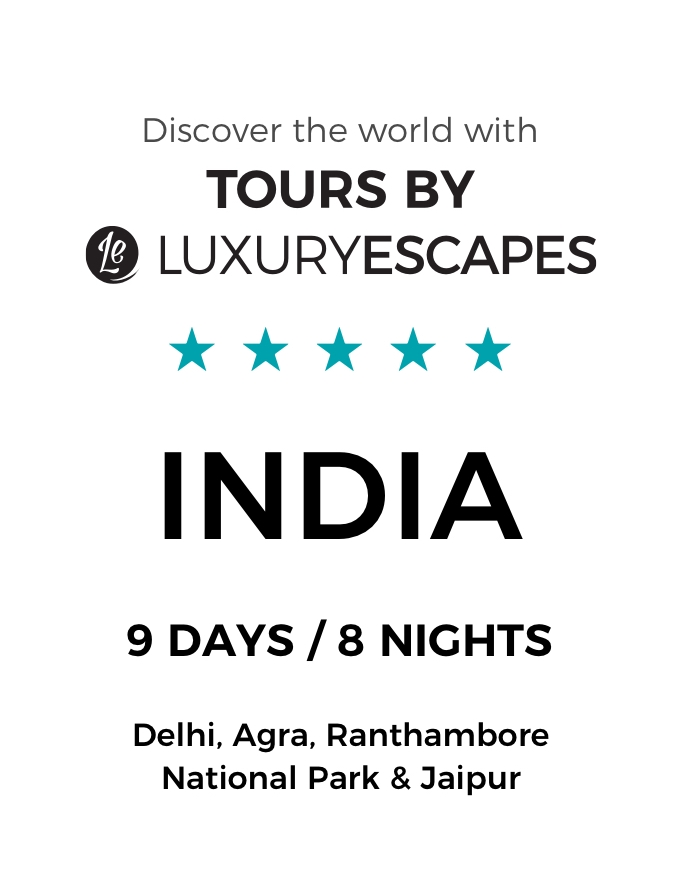 Indian Opulence: A Luxury 9-Day Small-Group Tour Through Delhi, Agra, Jaipur and Ranthambore National Park