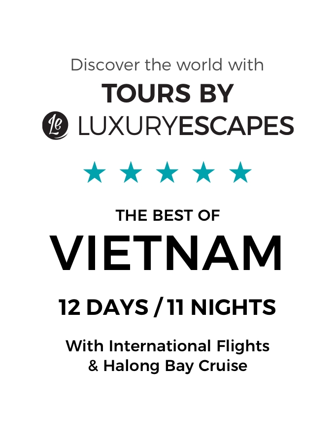 The Best of Vietnam: A 12-Day Luxury Small-Group Tour with Return International Flights and Overnight Halong Bay Cruise