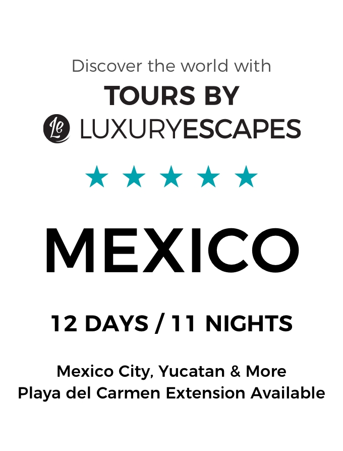 Mexico: Discover Ancient Mayan Ruins & Stunning Beaches On a Luxury Small-Group Tour with Boutique Accommodation