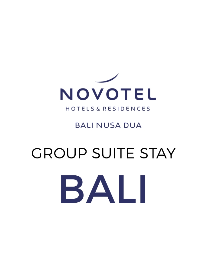 Two-Bedroom Suite Escape with Massage & Dinner at Novotel Bali Nusa Dua