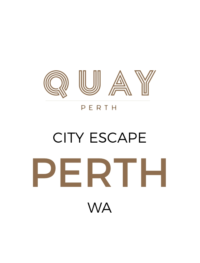 Boutique Perth Escape Overlooking Elizabeth Quay with Daily Breakfast