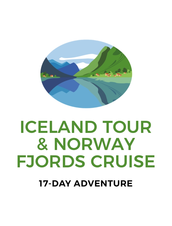 Northern Europe: 17-Day Norway Fjords Cruise with MSC Cruises, Iceland Tour and Return International Flights