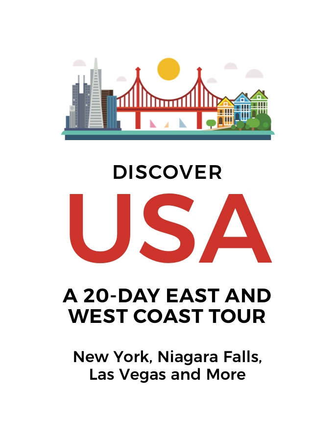 20-Day East and West Coast USA Tour: New York, Niagara Falls, San Francisco, Yosemite and More