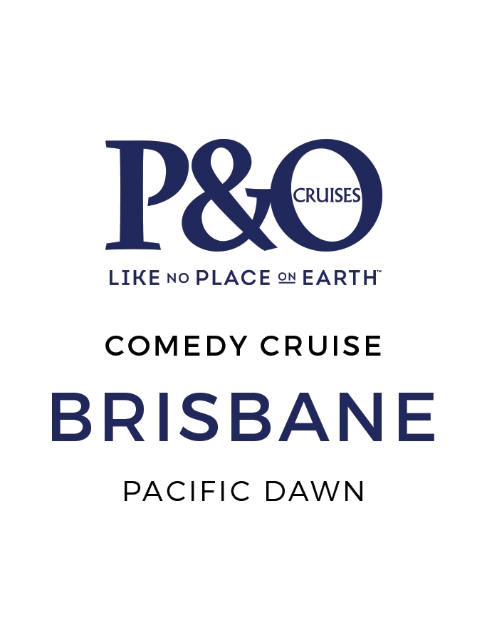 Three-Night P&O Comedy Cruise from Brisbane with Inclusive Dining and Evening Entertainment