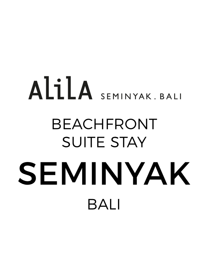 Beachfront Seminyak Suite Escape with Indulgent Dining