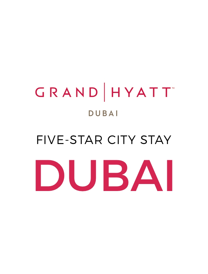 Five-Star Grand Hyatt Dubai Stay with Nightly Free-Flow Drinks