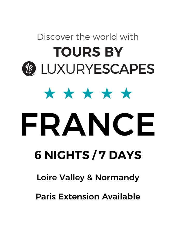 Loire Valley & Normandy: 7-Day Luxury Small-Group Tour with Château Tours & Wine Tastings
