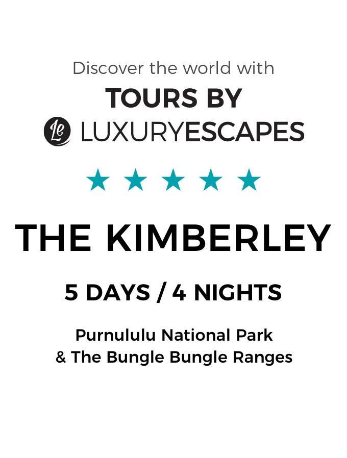 Majestic Kimberley: A Luxury 5-Day Small-Group Tour of Australia's Purnululu National Park and Bungle Bungle Range