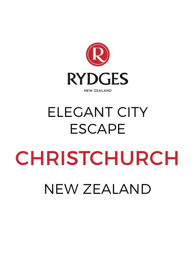 Stylish Stay in the Heart of Christchurch with Daily Breakfast