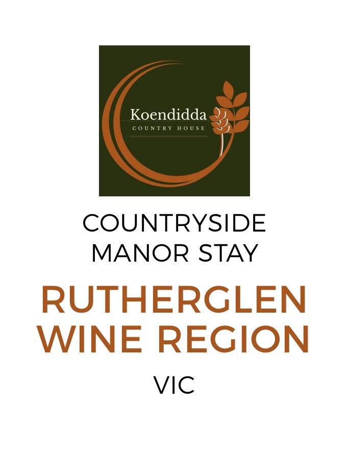 Historic Victorian Wine Country Stay with Daily Breakfast