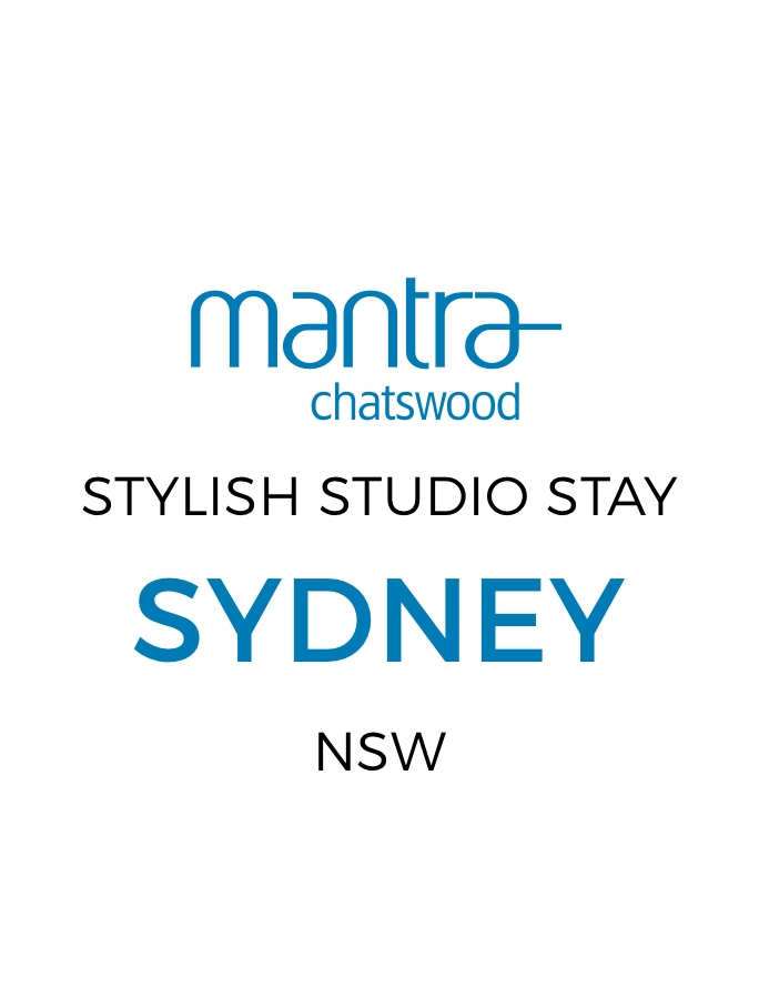 Stylish North Sydney Mantra Studio Stay with Daily Breakfast