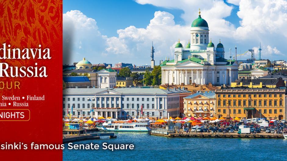 15-Night Russia and Scandinavia Tour