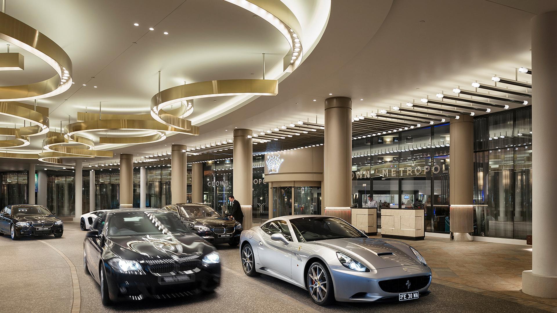 Crown casino valet parking cost harrahs terrace hotel casino in tunica