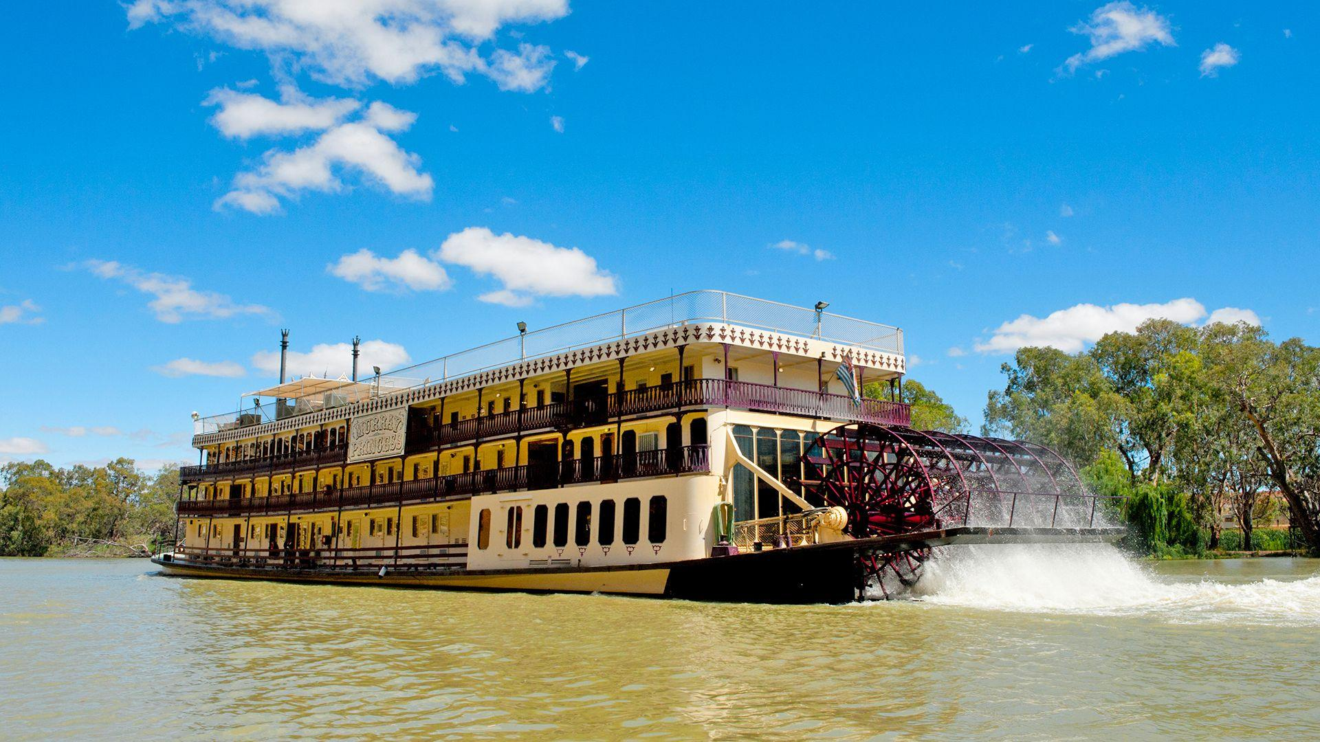 Classic Paddlewheeler Cruise on the Iconic Murray River, South