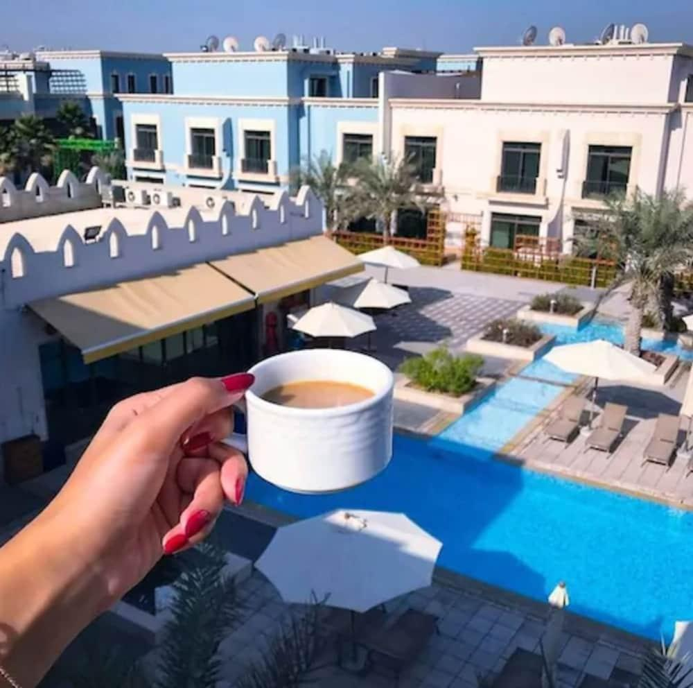 image 1 at Al Seef Resort & Spa by Andalus by Eastern Ring Road Khalifa Park Area Abu Dhabi United Arab Emirates
