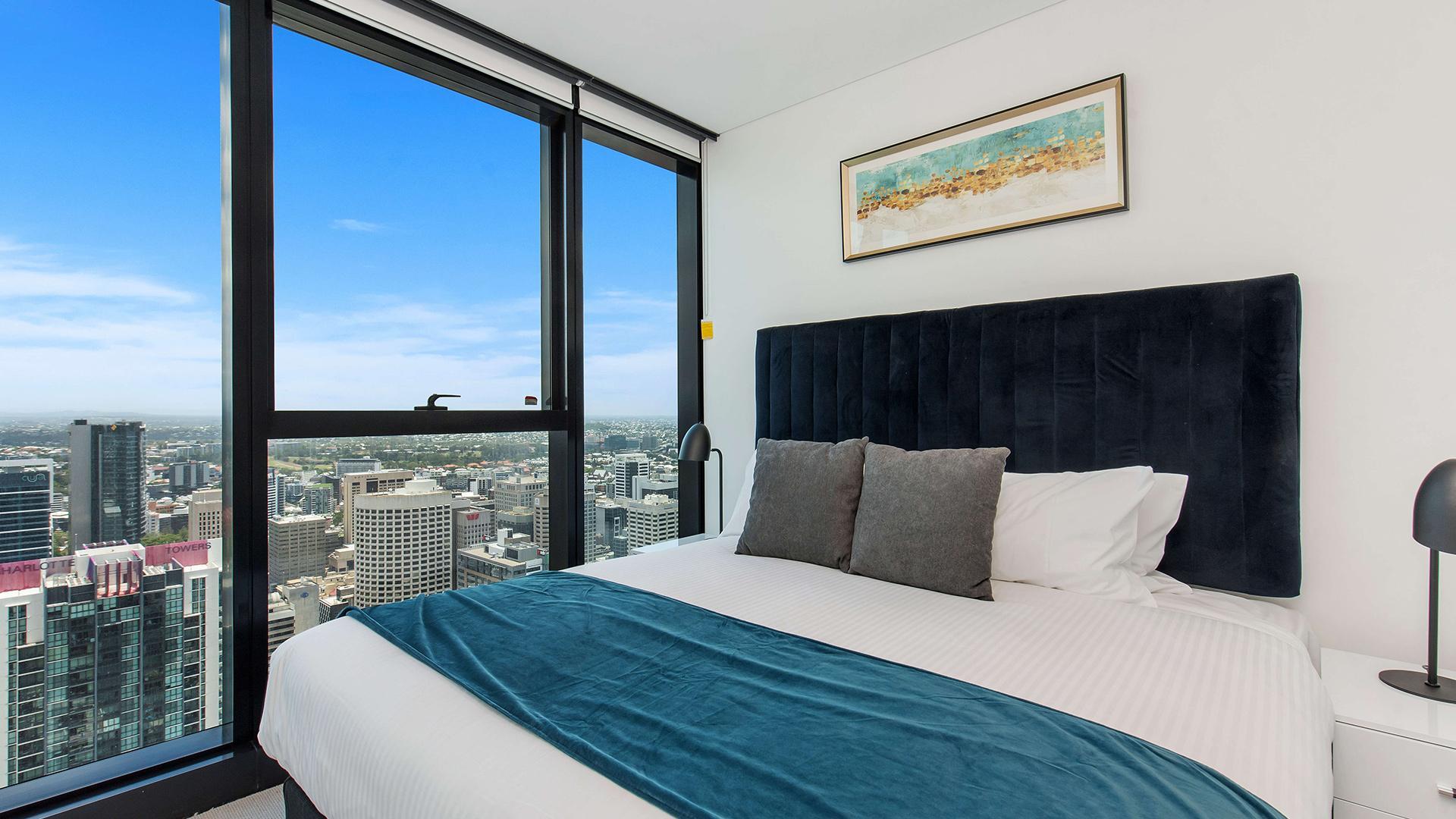 Sky High Brisbane Apartment With Breathtaking Views Welcome Wine Brisbane Queensland