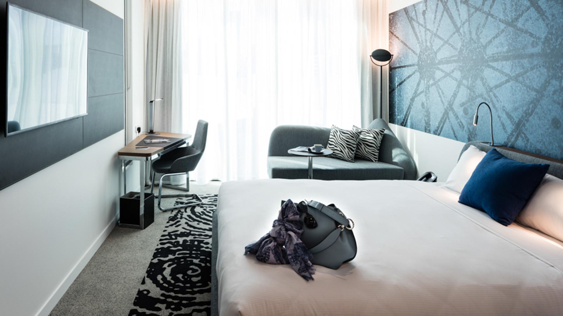 Superior 'N' Room image 1 at Novotel Brisbane South Bank by Brisbane City, Queensland, Australia