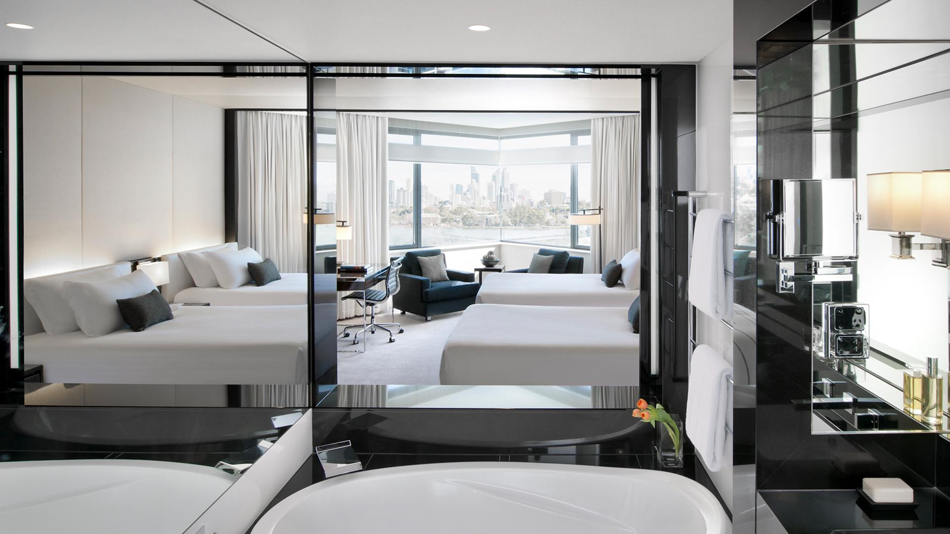 Luxe Twin Room image 1 at Crown Metropol Perth by Town of Victoria Park, Western Australia, Australia