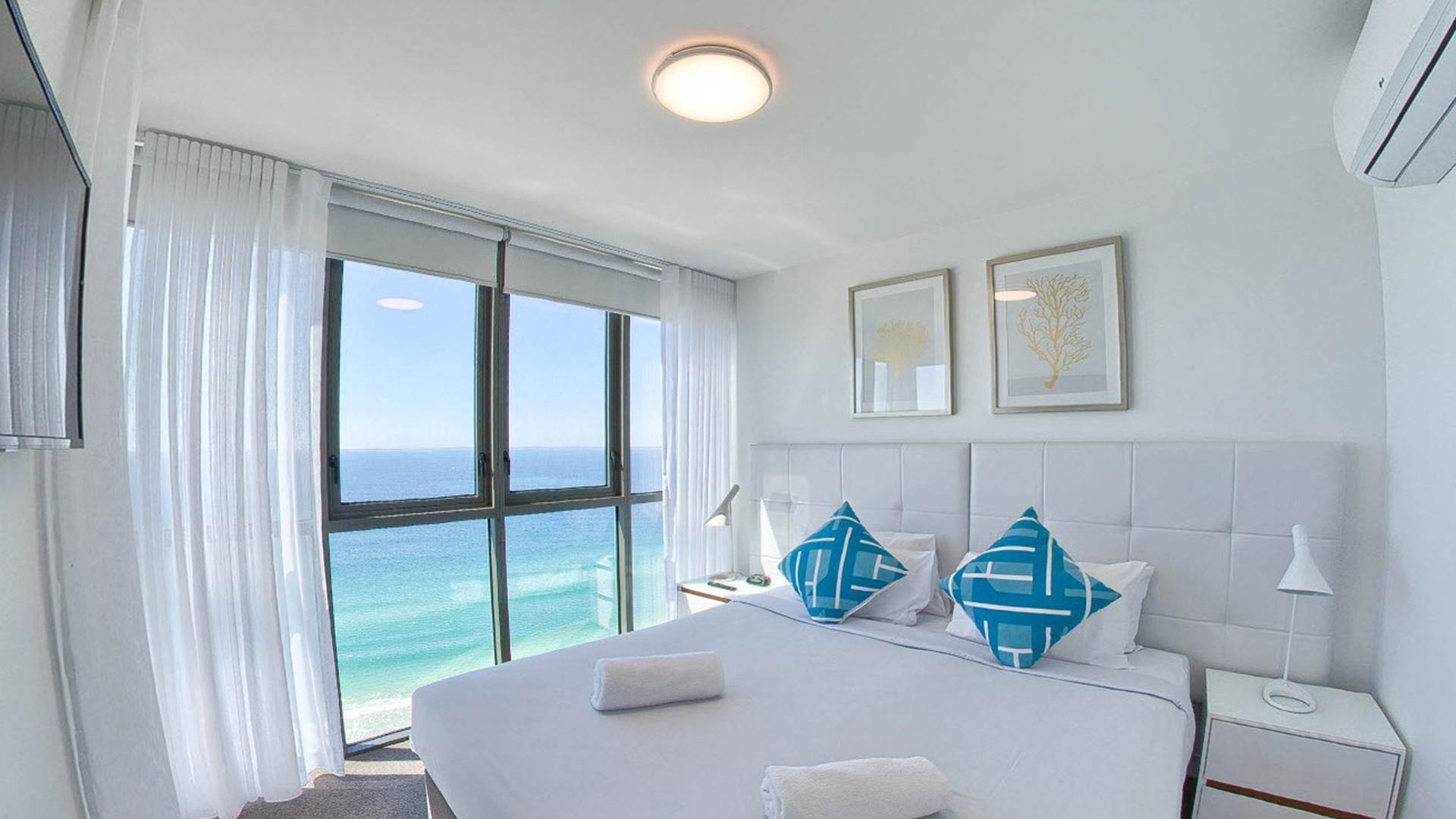 Two-Bedroom High Ocean View Apartment - 3 Nights image 1 at Rhapsody Resort by City of Gold Coast, Queensland, Australia