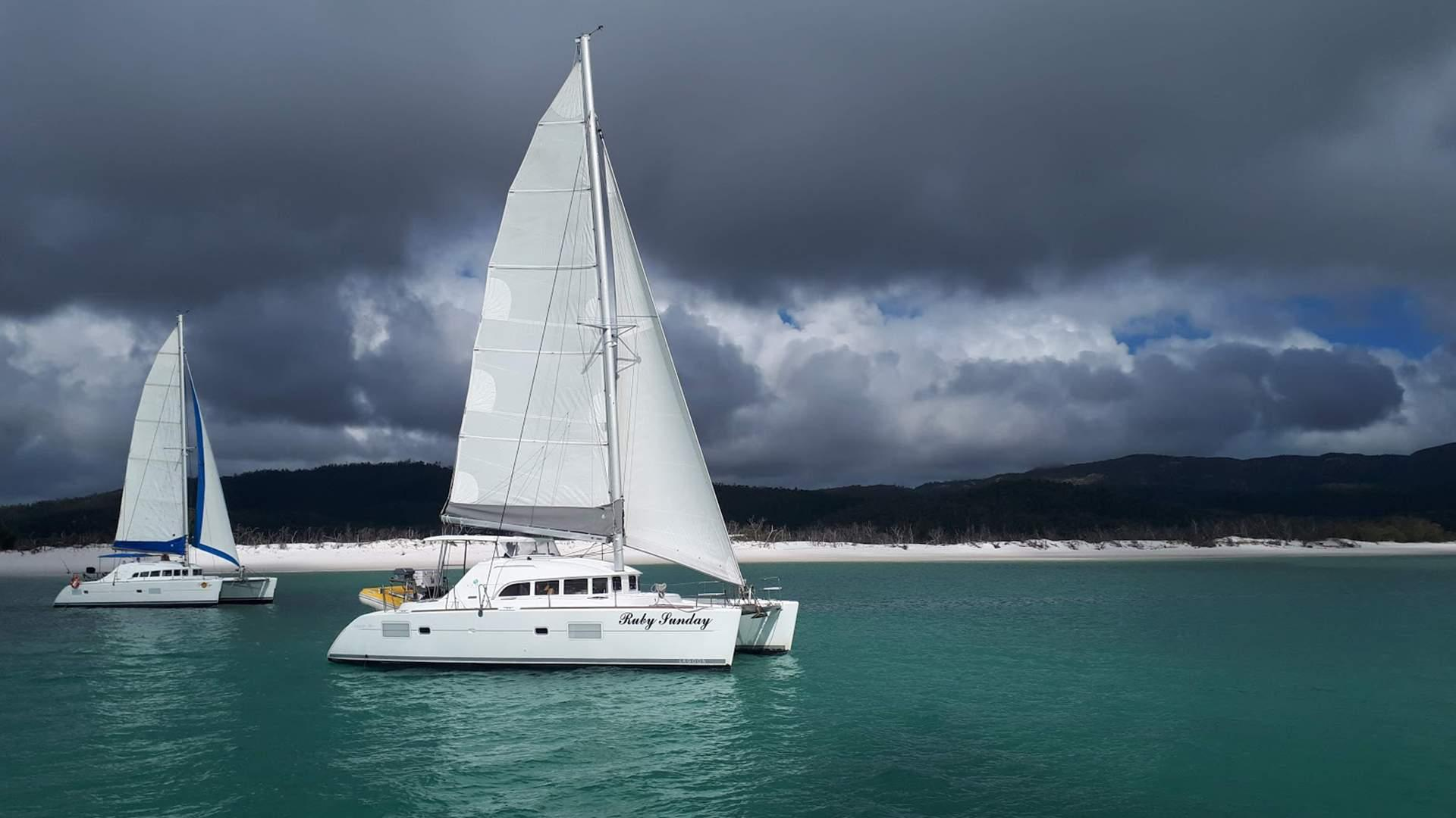 Ruby Sunday image 1 at Portland Roads – Sailing the Whitsundays by Whitsunday Regional, Queensland, Australia