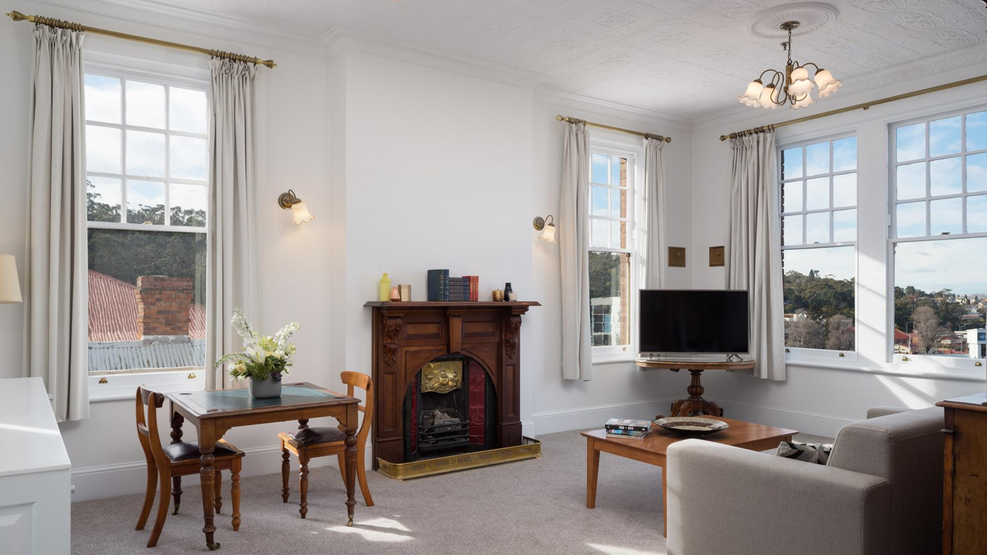 The Manor Suite image 1 at Rydges Hobart by Hobart City Council, Tasmania, Australia