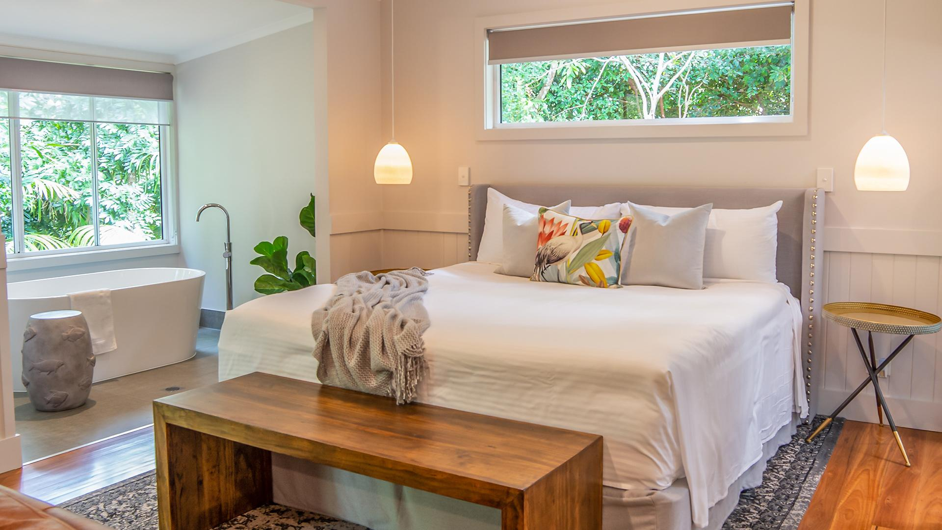 One-Bedroom Cottage image 1 at Clouds Montville by Sunshine Coast Regional, Queensland, Australia