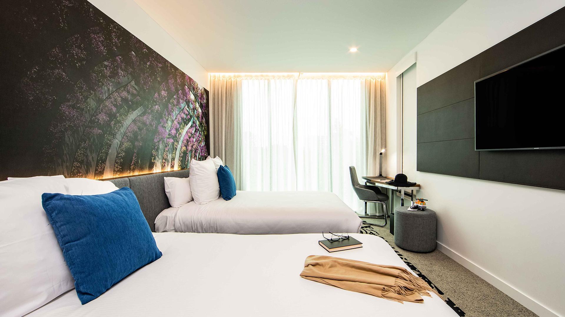 Double 'N' Room image 1 at Novotel Brisbane South Bank by Brisbane City, Queensland, Australia