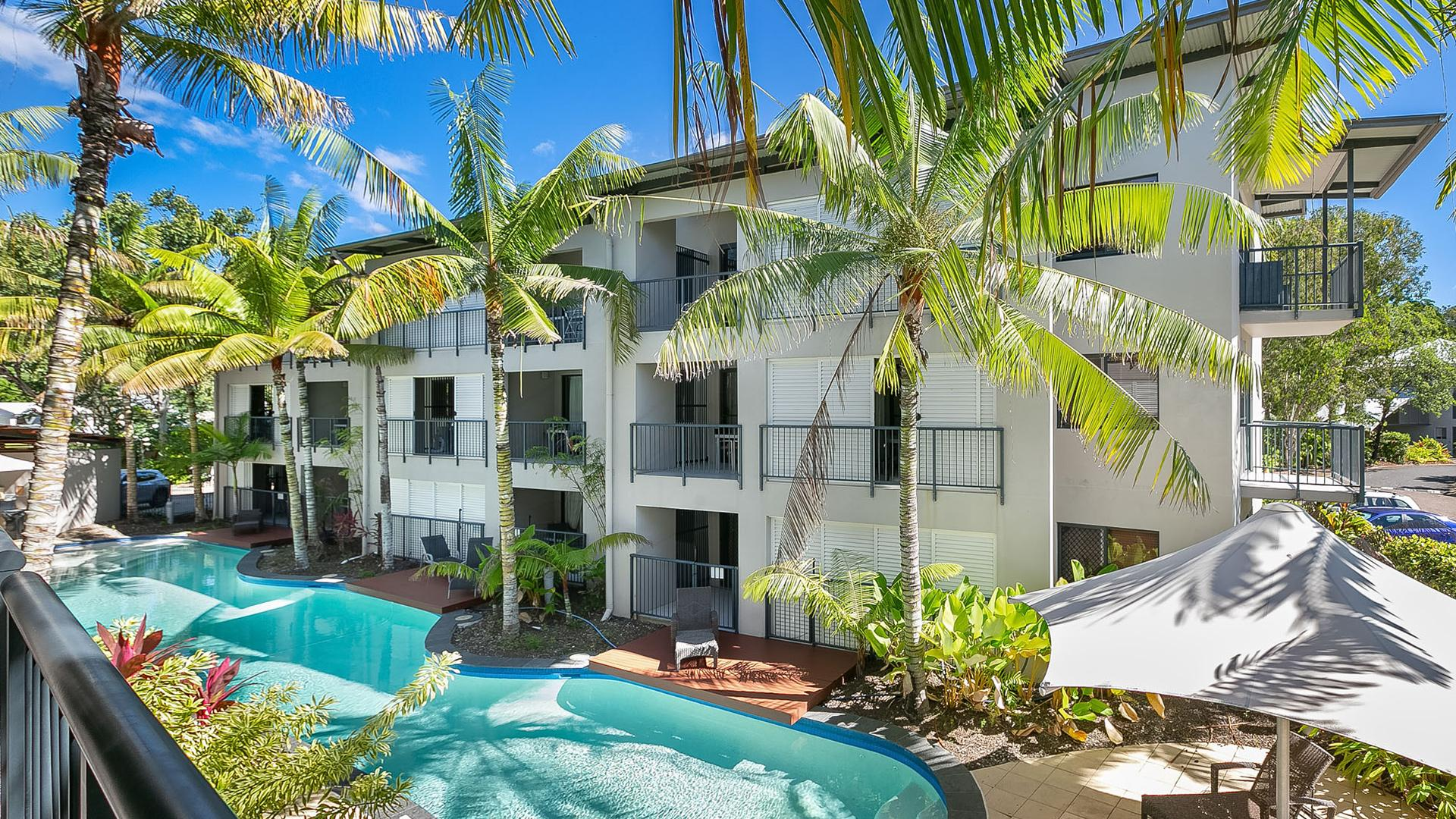 One-Bedroom Apartment image 1 at Blue Lagoon Resort JUNE 2020 by Cairns Regional, Queensland, Australia