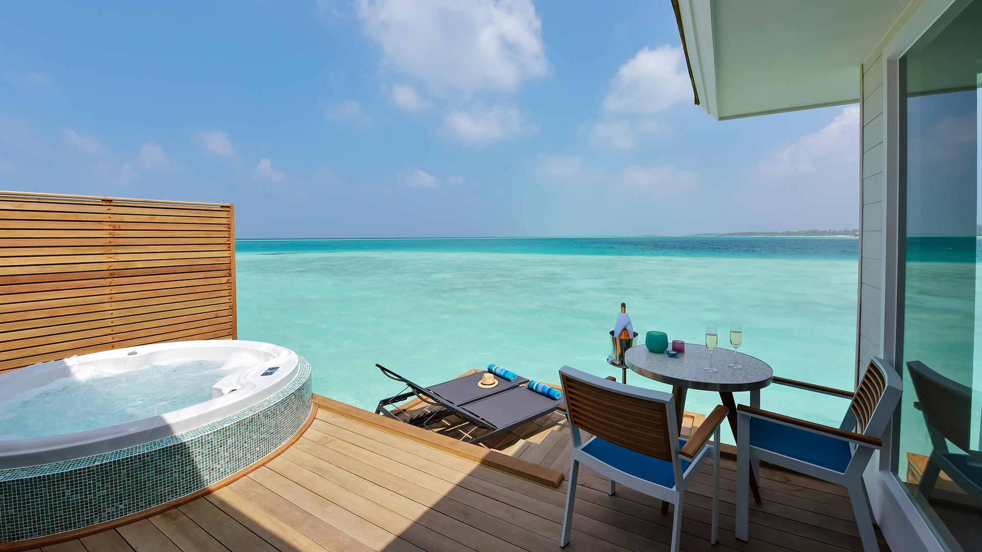 Aqua Villa with Swirl Pool image 1 at Kandima Maldives by null, Central Province, Maldives