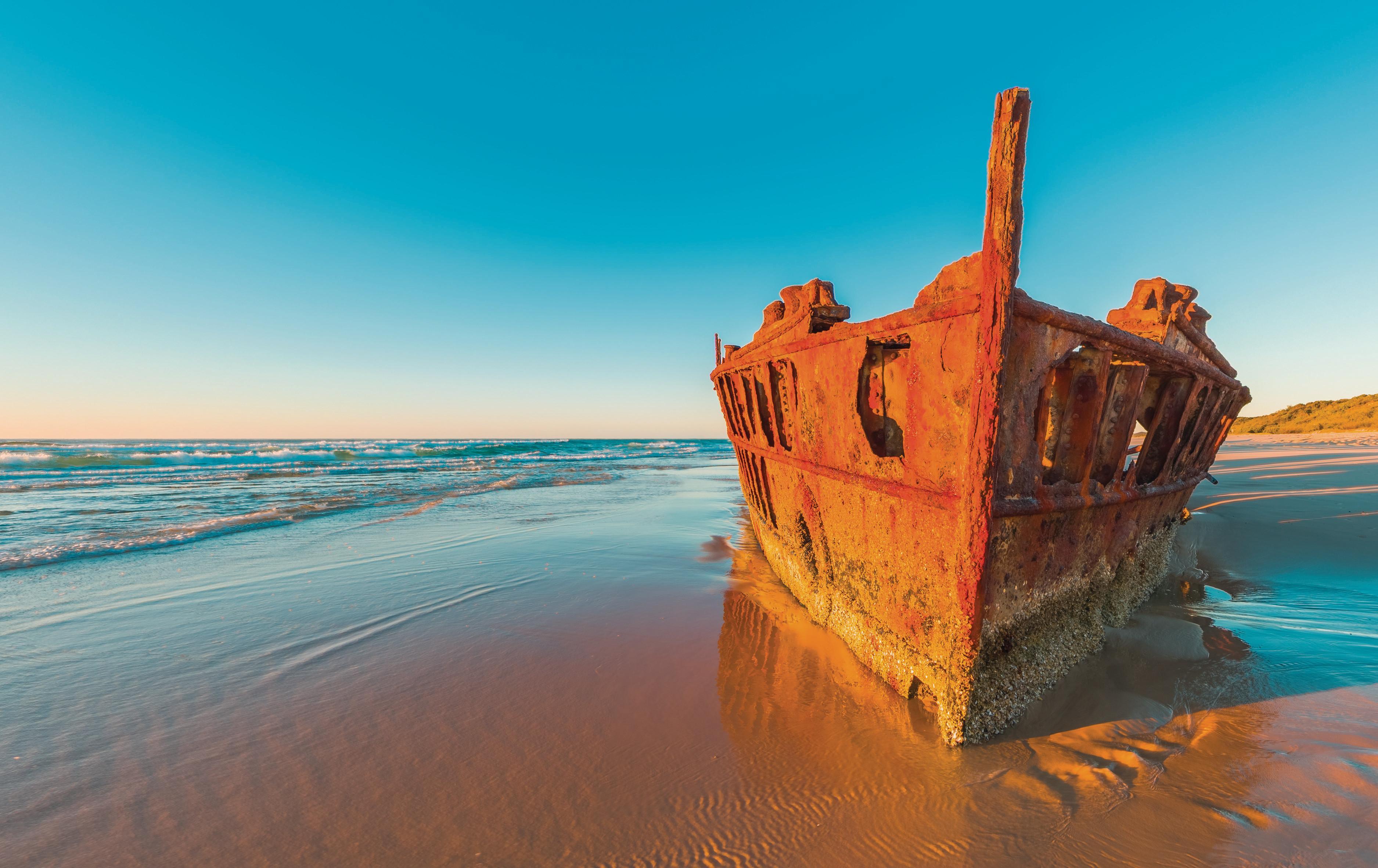 SS Maheno Shipwreck at Fraser Island