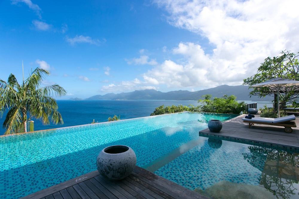 image 1 at Four Seasons Resort Seychelles by Petite Anse Mahe Island Seychelles