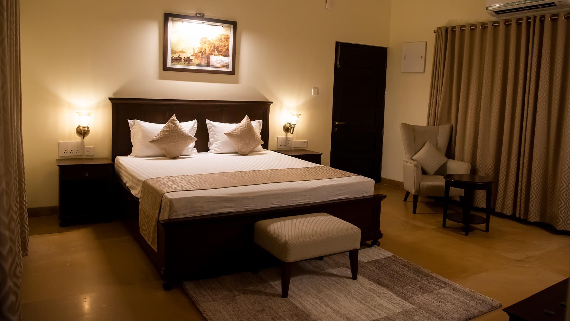 Executive Cottage image 1 at WelcomHeritage Tadoba Vanya Villas Resort & Spa by Chandrapur, Maharashtra, India