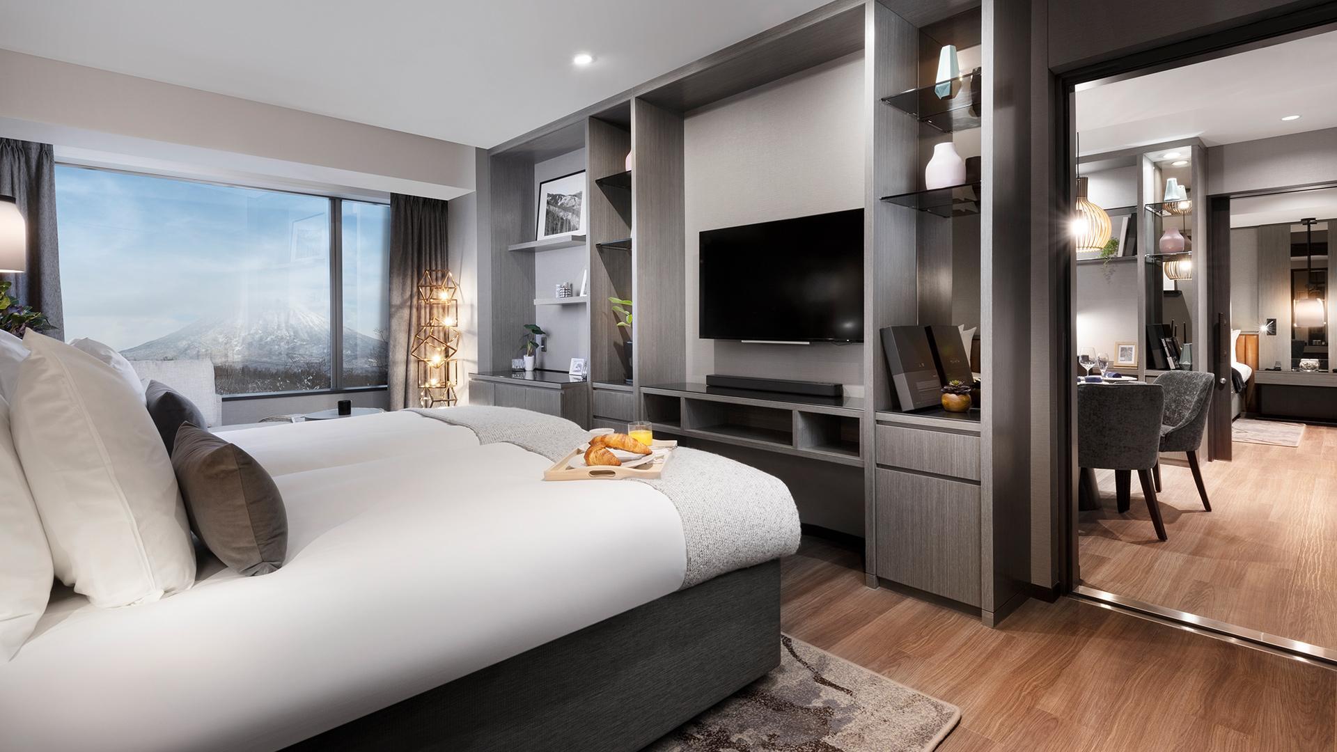 Three-Bedroom Suite (2020) image 1 at Hinode Hills Niseko Village by Abuta-gun, Hokkaido, Japan