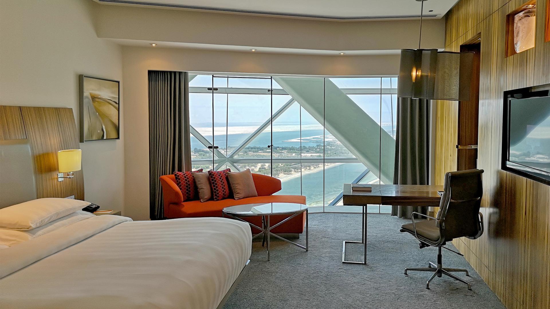 Standard Room image 1 at Andaz Capital Gate, Abu Dhabi — a concept by Hyatt by null, Abu Dhabi, United Arab Emirates