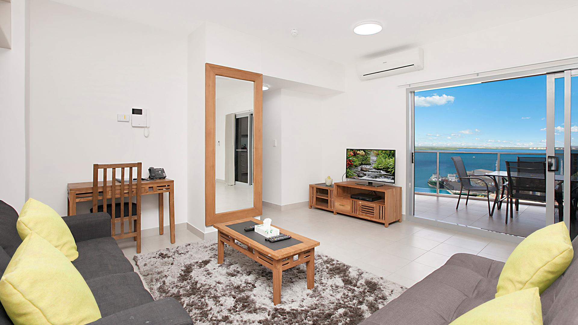 Two-Bedroom Apartment with Harbour Cruise image 1 at Ramada Suites by Wyndham Zen Quarter Darwin by Darwin Municipality, Northern Territory, Australia