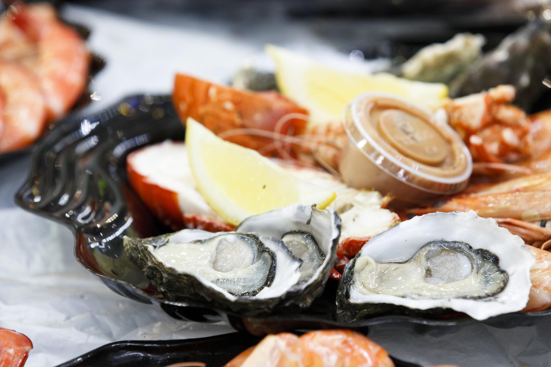 Sydney Fish Market Oysters