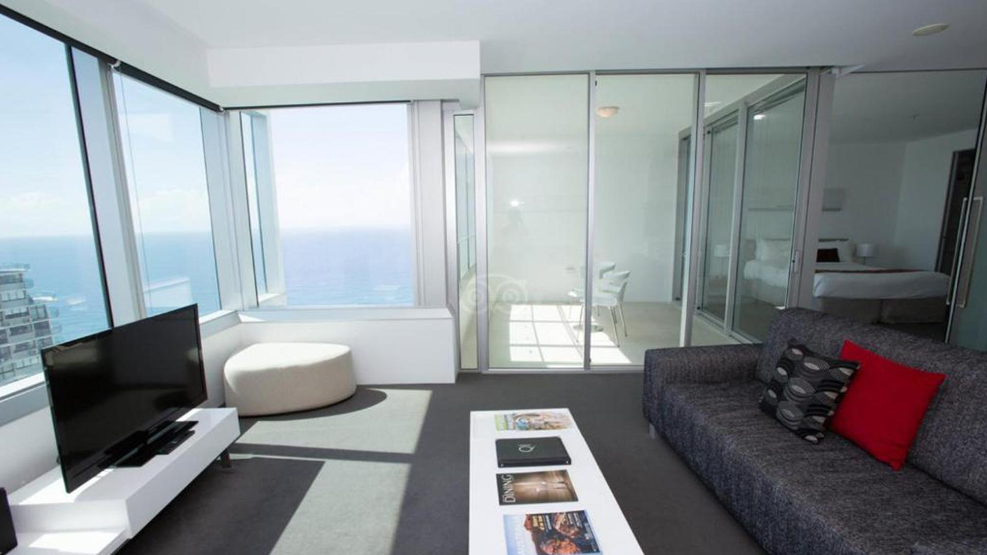 One-Bedroom Ocean-View Apartment  image 1 at Q1 Resort & Spa by City of Gold Coast, Queensland, Australia