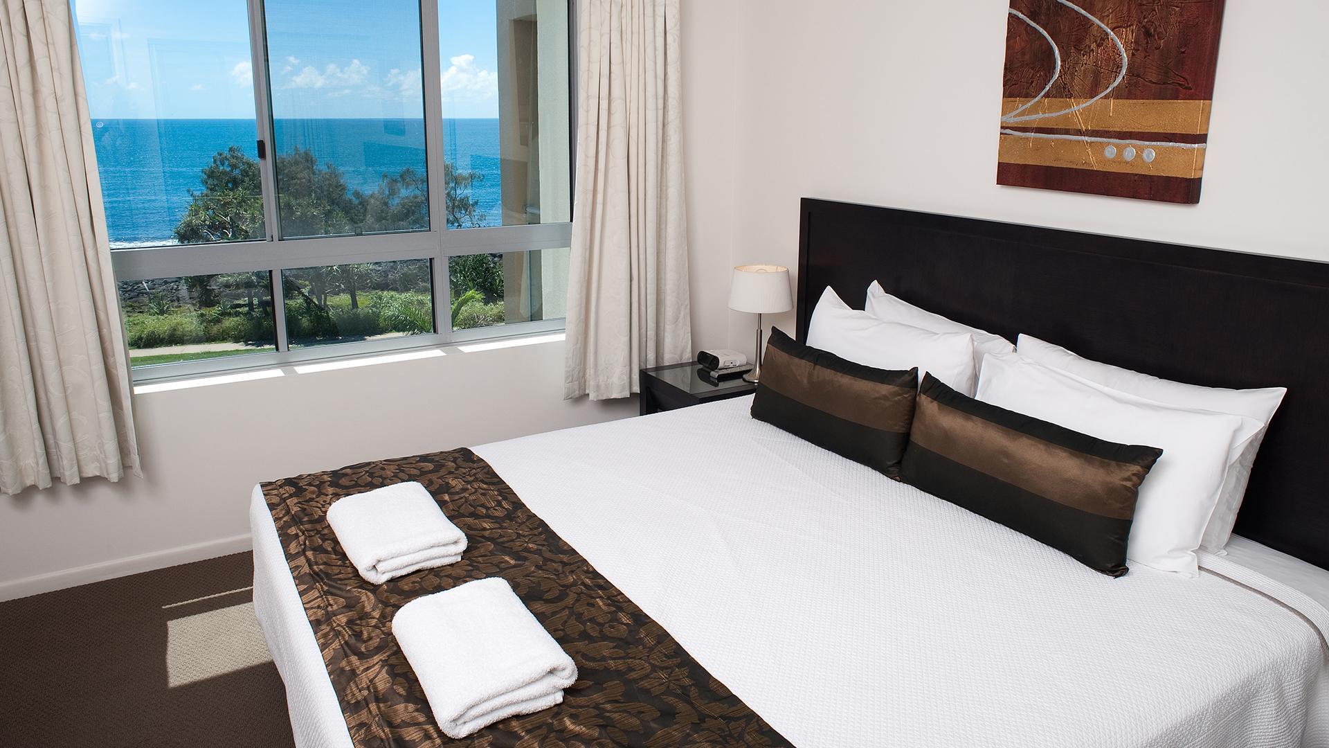 Two-Bedroom Ocean-View Apartment image 1 at The Point Resort by Bundaberg Regional, Queensland, Australia