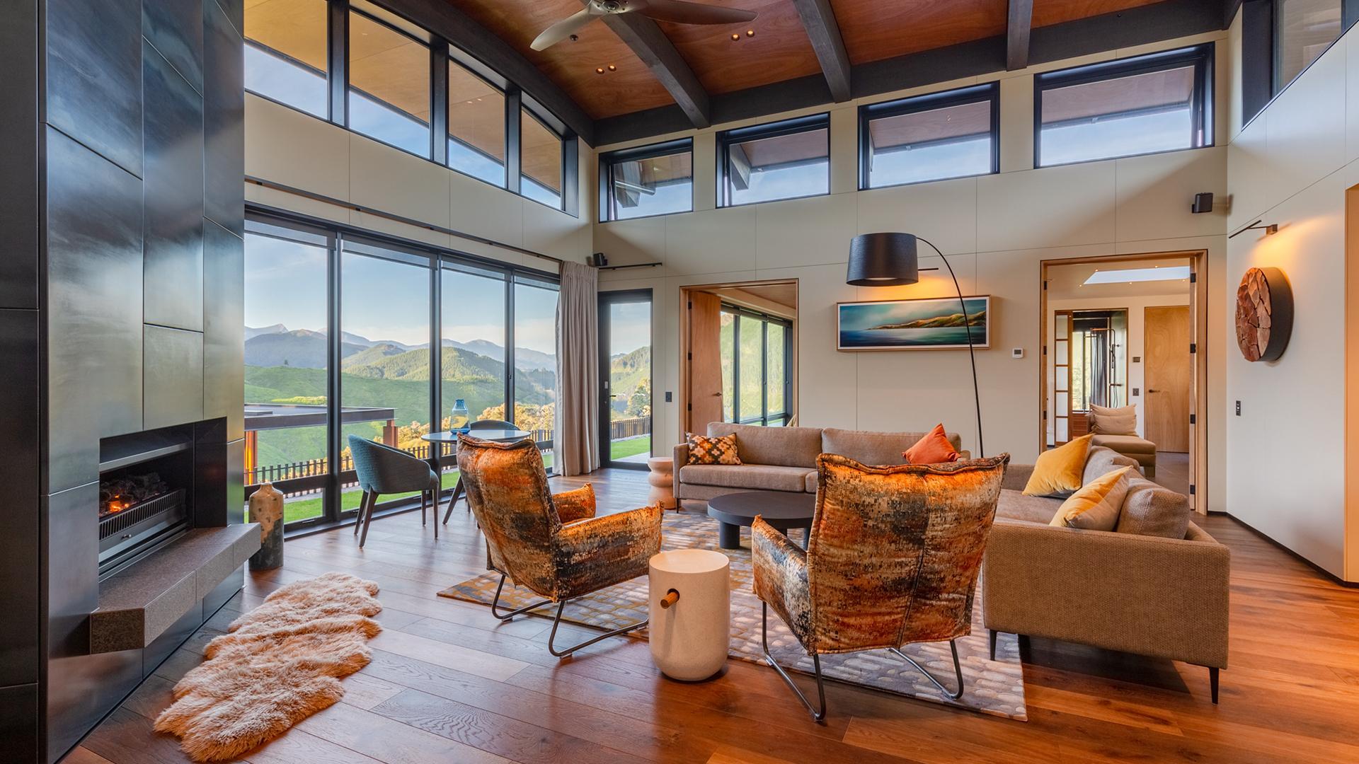 Tasman Suite image 1 at Falcon Brae Villa by null, Tasman, New Zealand