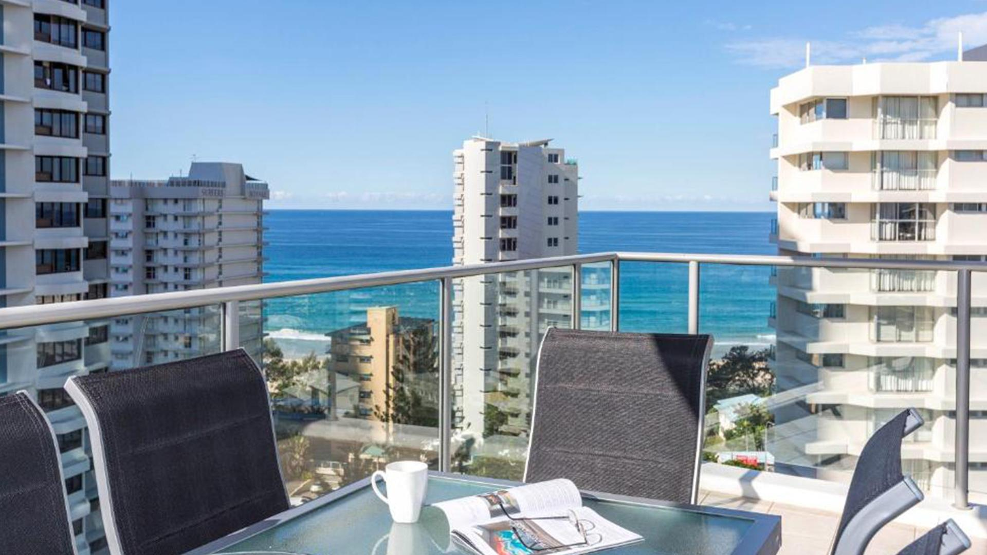 Two-Bedroom Partial Ocean View image 1 at Artique Surfers Paradise by City of Gold Coast, Queensland, Australia