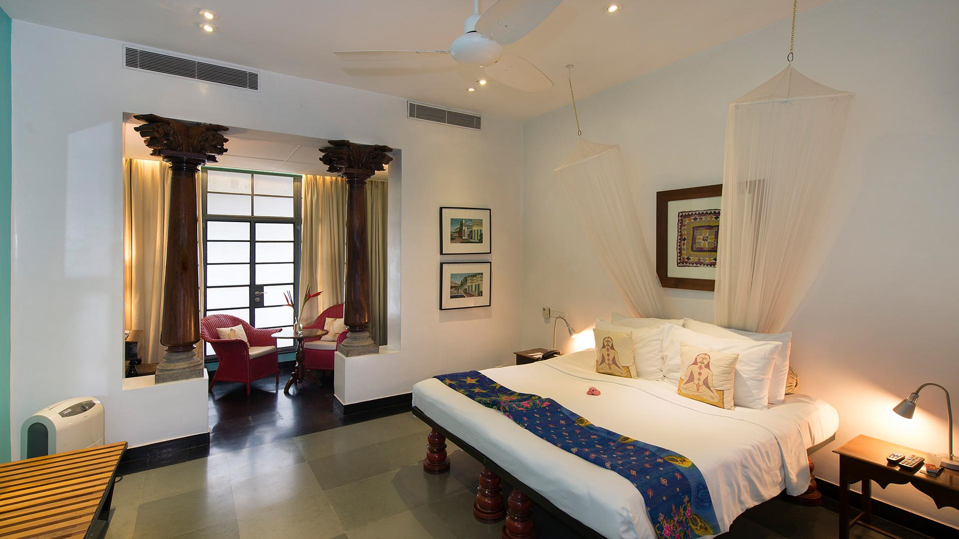 Deluxe Room image 1 at Malabar House by Kerala, Kochi, India