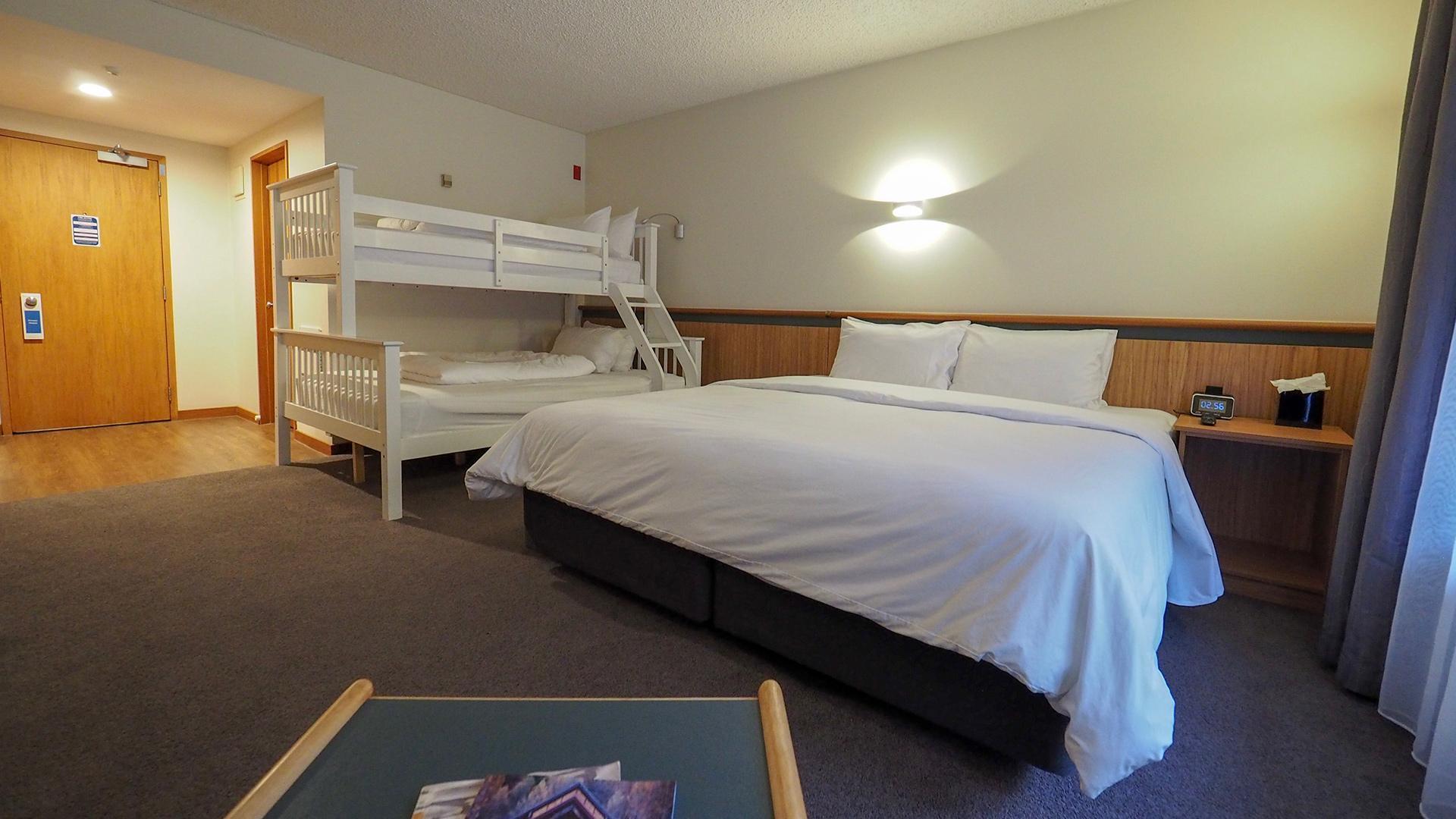 Family Room image 1 at Swiss-Belresort Coronet Peak by null, Otago, New Zealand