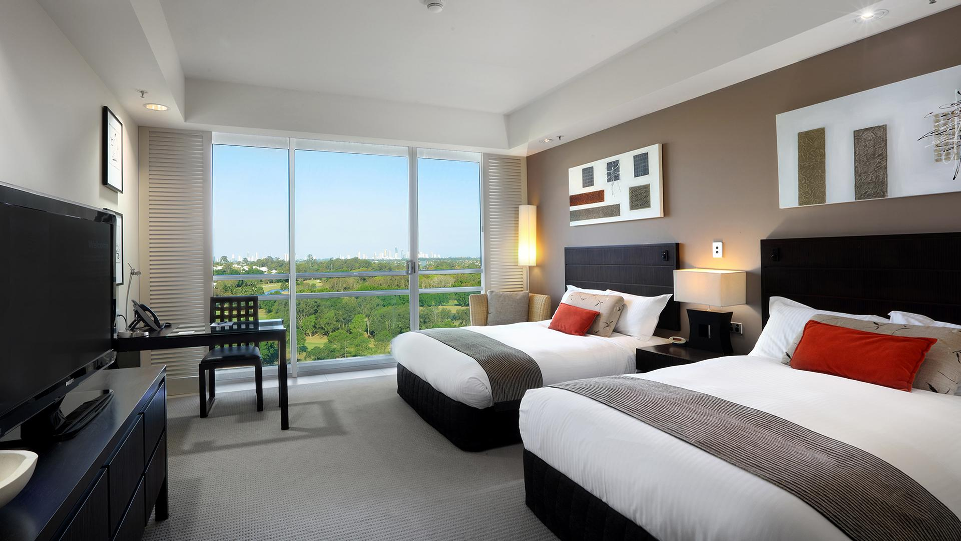 Superior Twin Room image 1 at RACV Royal Pines Resort by City of Gold Coast, Queensland, Australia