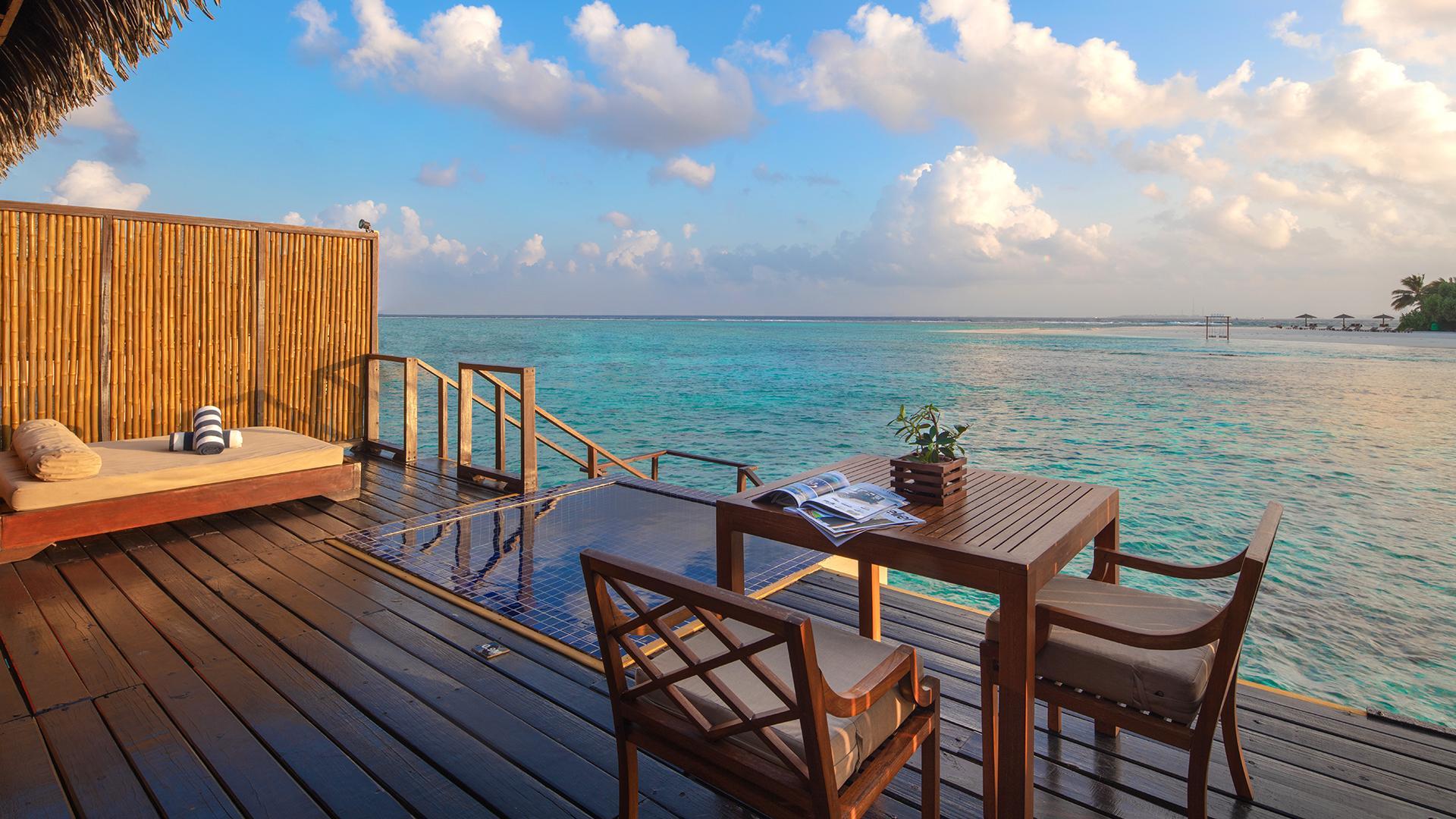 Sunrise Water Villa image 1 at Adaaran Prestige Vadoo by Kaafu Atoll, North Central Province, Maldives