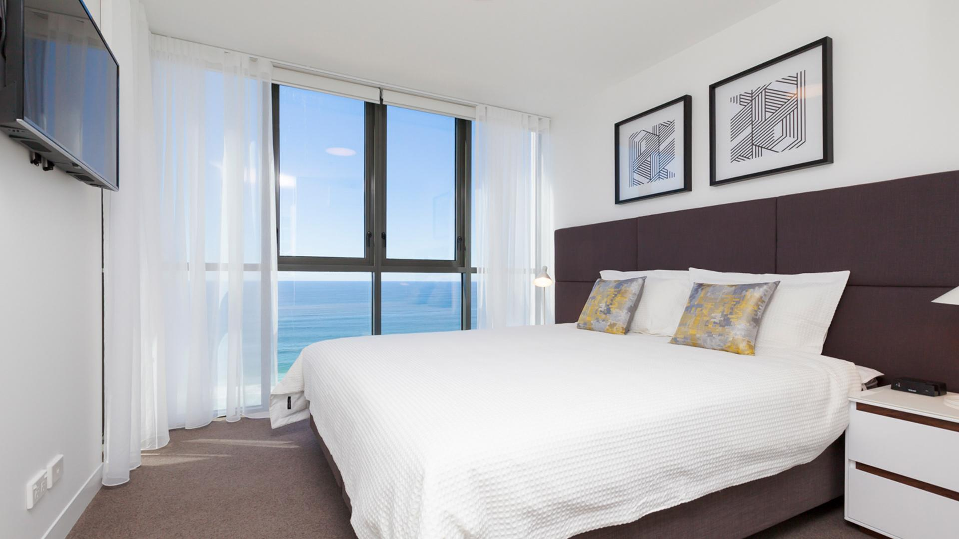 One-Bedroom Ocean View Apartment - 3 Nights image 1 at Rhapsody Resort by City of Gold Coast, Queensland, Australia