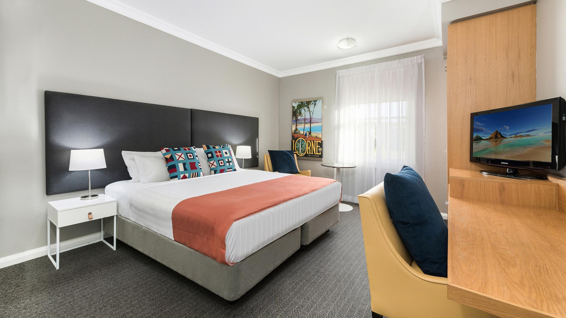 Heritage Room image 1 at Mantra Lorne by Surf Coast Shire, Victoria, Australia