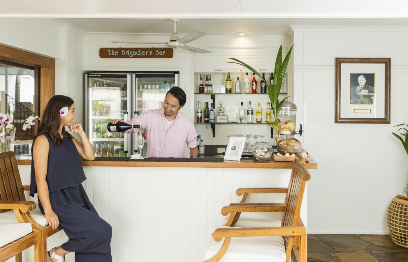 Brigadier's Bar & Lounge at Reef House